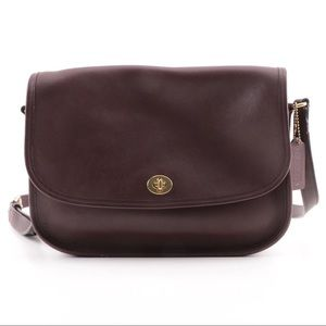 AUTHENTIC VINTAGE COACH 9790 CITY BAG IN MAHOGANY